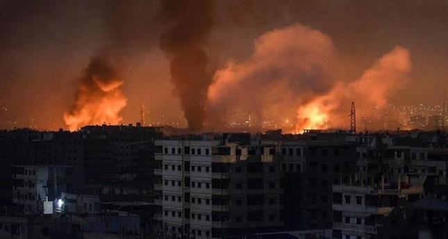 غارات جوية إسرائيلية على أهداف إيرانية في حلب شمالي سوريا