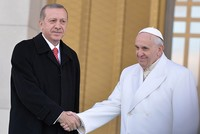 Pope will be pleased about Erdoğan's visit, ambassador says