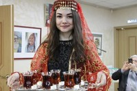 Turkish tea has been introduced in Kazan, the capital city of the Russian region of Tatarstan, in an event organized at the Kazan People's Assembly.  During the occasion, titled ''Samovar: Tea...