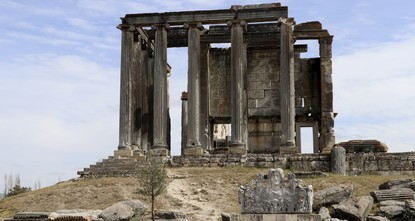 400 ancient drawings belonging to Çavdar Turks found in Temple of Zeus