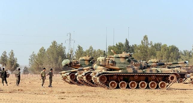 درع الفرات.. استشهاد جندي تركي وتدمير 79 هدفاً لتنظيم داعش الإرهابي