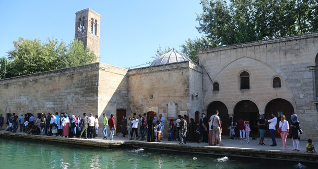 Urfa, where Prophet Abraham is believed to have been born is among the most visited and prominent centers of the region.