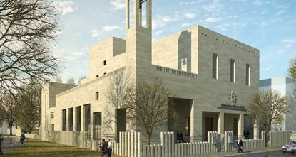 pPope Francis confirmed construction of a Syriac church in place of the former Latin Catholic Cemetery in Turkey's Istanbul, Vatican Ambassador Paul Russell said while visiting Istanbul's Bakırköy...