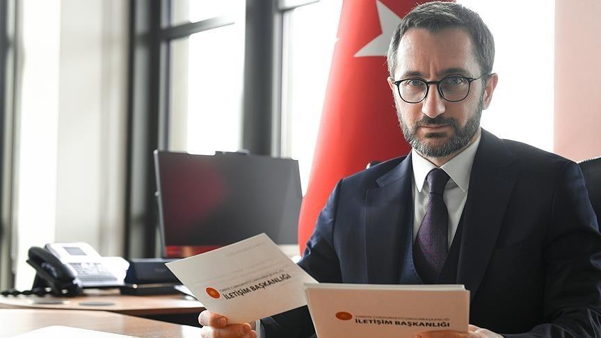 Presidential Communications Director Fahrettin Altun (AA Photo).