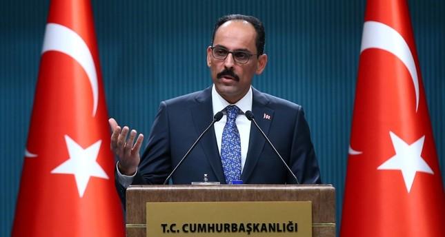 قالن: الهجوم على إدلب سيقوّض العملية السياسية الجارية وسيؤدي إلى أزمة ثقة خطيرة