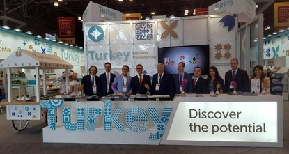 pOrganic Turkish food products drew significant interest at the 63rd Summer Fancy Food Show, which took place in New York City on June 25-27. Turkey was featured as a partner country at the show,...