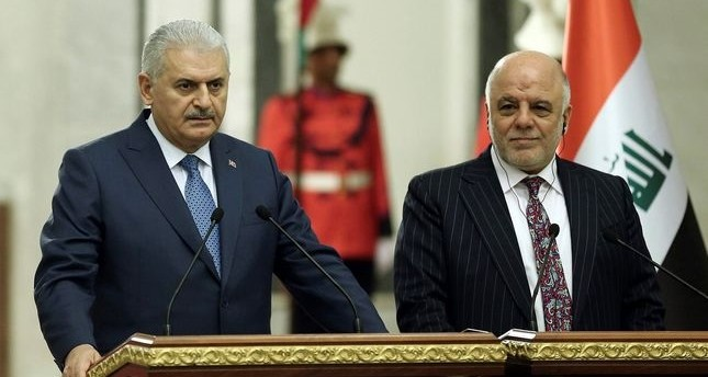 Prime Minister Yıldırım over the weekend met with his Iraq counterpart, Haider al-Abadi, during his visit to Baghdad to discuss security issues, especially the continued PKK presence in the country.