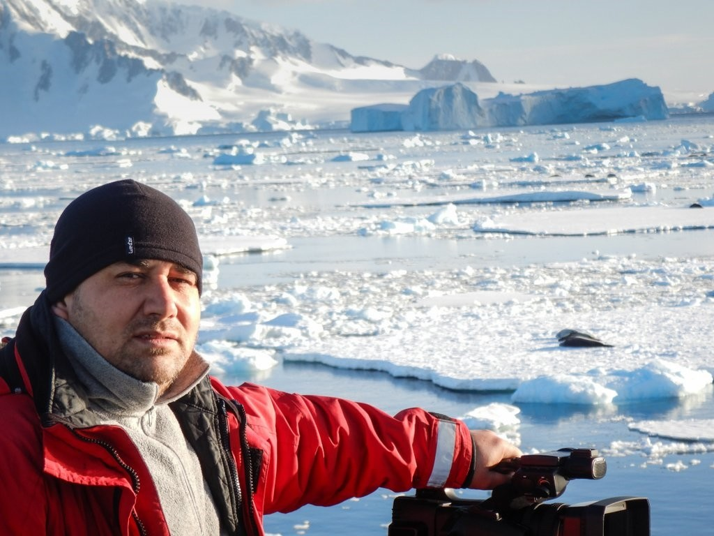 Yunus Topal achieved his childhood dream of traveling to the poles with his latest trip to the South Pole.