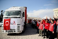 Turkish Red Crescent boosting aid to Jarablus, Mosul