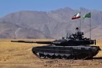 قوات إيرانية في الشمال حيث تنشط مجموعات مسلحة مناوءة (من الأرشيف)