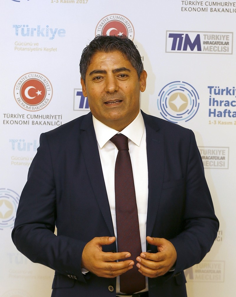 Cafer Mahirou011flu, chairman of the executive board of Select, a Turkish-owned clothing company that operates in the U.K. (AA photo)