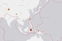 Strong earthquakes strike western China, Indonesia