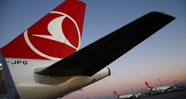 Turkish Airlines (THY) aircraft are seen parked at Atatürk International Airport in Istanbul, December 8, 2017. (Reuters Photo)