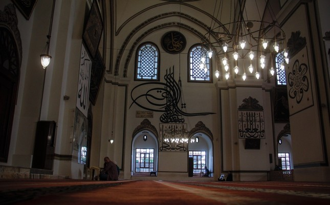 The Grand Mosque of Bursa is the heart and soul of the city.