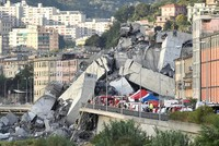 Ursachensuche nach Brücken-Einsturz in Genua