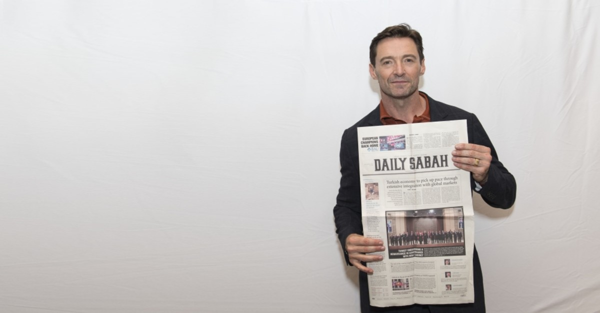 Daily Sabah conducted an interview with Hugh Jackman in Los Angeles.