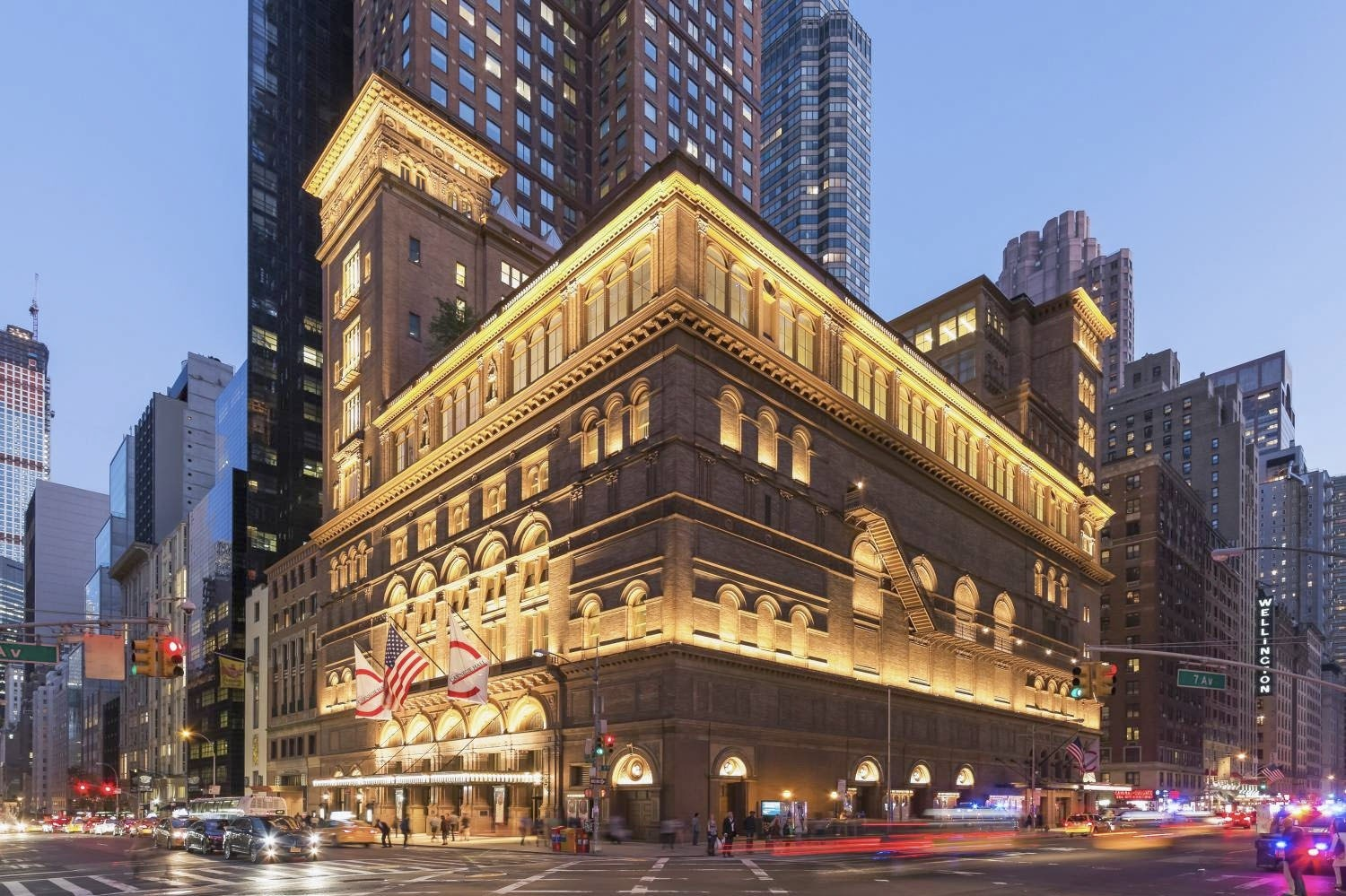 The concert will take place at the Carnegie Hall in New York.