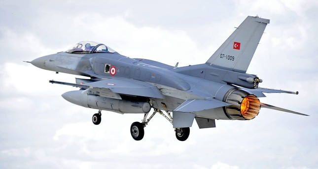 An F-16 Fighting Falcon of the Turkish Air Force (Türk Hava Kuvvetleri) takes off on a sortie from Third Air Force Base Konya, Turkey during Exercise Anatolian Eagle. (RAF Photo)