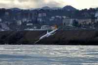 Eine Boeing der Fluggesellschaft Pegasus Airlines ist am Samstagabend in der Schwarzmeer-Provinz Trabzon bei der Landung von der Piste abgekommen und beinahe ins Wasser gerutscht. Die 168 Menschen...
