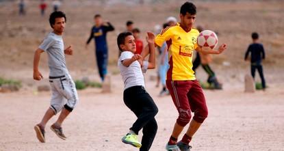 Football miracle brings joy to war-torn Yemenis