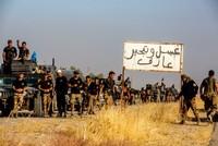 Shiite militias lead the way in frontline toward Mosul