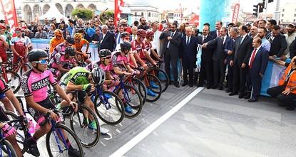 انطلاق النسخة الـ54 لسباق رئاسة الجمهورية التركية للدراجات الهوائية