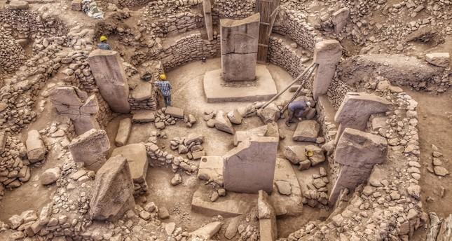 The ancient site of Göbeklitepe in southeastern Turkey's Şanlıurfa (Sabah Photo)