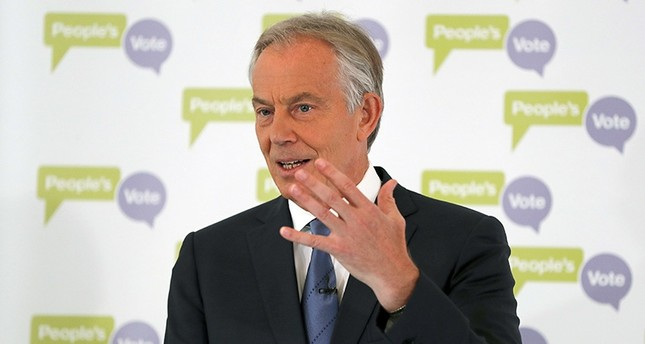 Second Brexit referendum likely: former UK PM Blair