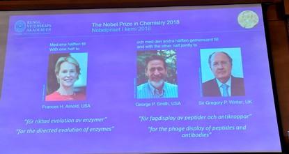 """Nobelpreis für die Entwicklung """"grüner Chemie"""""""