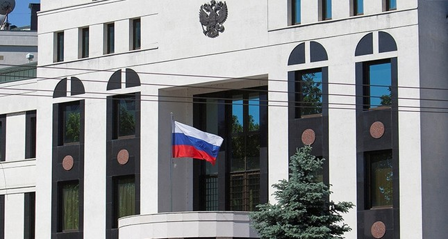 A general view shows the Embassy of Russia in Chisinau, Moldova May 30, 2017 (Reuters Photo)