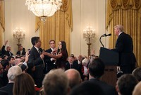 White House bans CNN's Acosta, accuses him of 'placing hands on' intern after Trump showdown