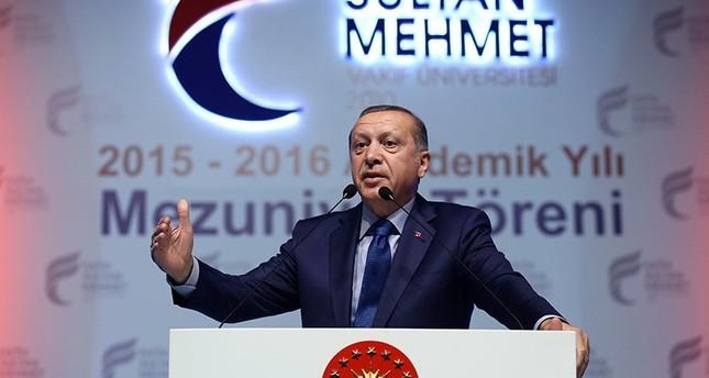 أردوغان يعتبر أن أوروبا ترفض عضوية بلاده لأنها مسلمة ويلوح باستفتاء شعبي