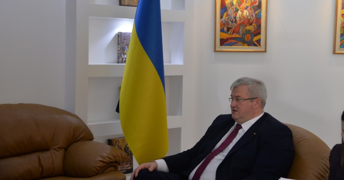Ukrainian Ambassador to Ankara Andrii Sybiha Sybiha indicated that cultural interaction is one of the most significant pillars of bilateral relations between Ankara and Kyiv.