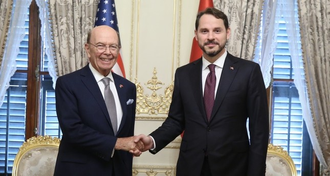Finance minister discusses trade ties with US secretary of commerce