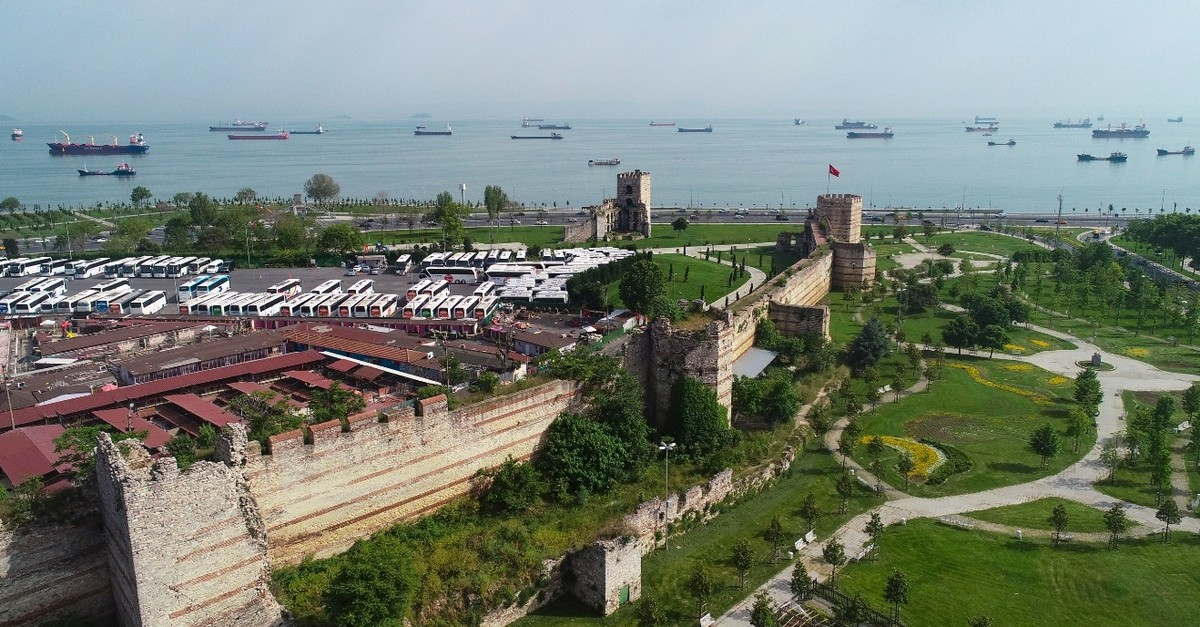 The city walls survived disasters and raids over centuries and they still stand strong.