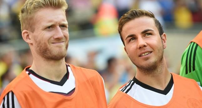 André Schürrle und Mario Götze. (DPA Foto)