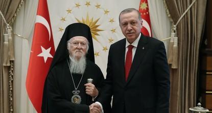Erdoğan receives Greek Orthodox patriarch