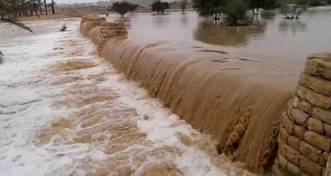 ارتفاع ضحايا سيول في الأردن إلى ٧ قتلى