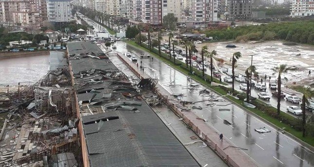 Tornado in Turkey's Antalya leaves 2 dead, 1 missing, 10 injured