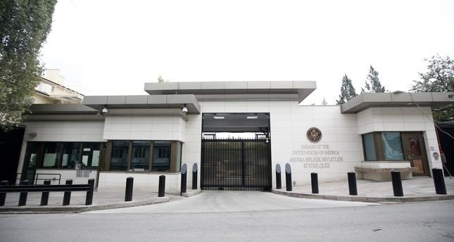 US Embassy in Ankara (EPA Photo)
