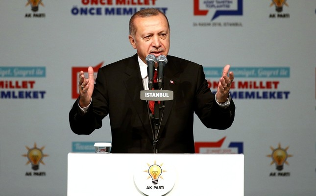 Erdoğan reveals AK Party's mayor candidates in 40 cities for local elections