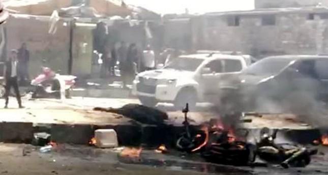 مجموعة تابعة لـ ي ب ك/ بي كا كا الإرهابي تتبنى تفجيرات عفرين وتتوعد بتنفيذ هجمات جديدة