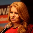 Caputova leads Slovak presidential race first round