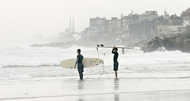 Philip Gnadt and Mickey Yamine, Gaza Surf Club, 2016.