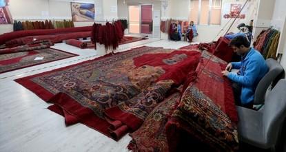 تركيا ترمم سجادة جامع بايزيد التاريخية
