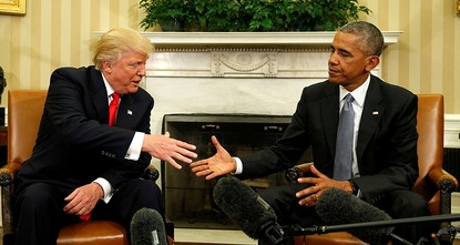 pNorth Korea has a criticism of U.S. President Donald Trump he probably wasn't expecting: He's too much like Barack Obama./p  pNorth Korea's state media, which regularly vilified Obama in the...