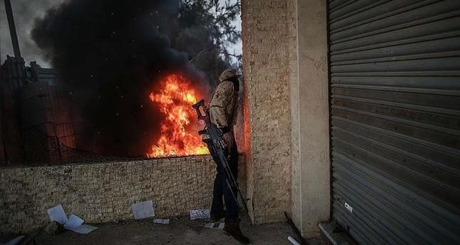 الجيش الليبي يدخل وسط مدينة الأصابعة