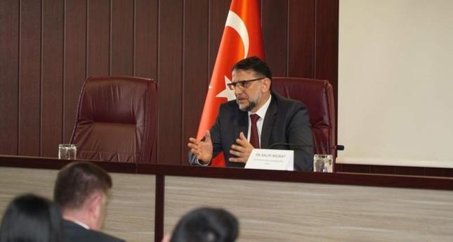 Judge Salih Murat. (Photo courtesy of his daughter Zeynep Murat)