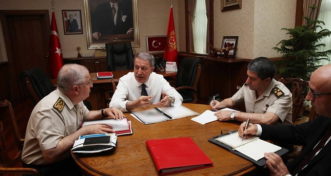 Akar, Güler to hold talks on Syria with US officials
