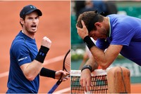 Andy Murray downed longtime rival Juan Martin del Potro to reach the Roland Garros last 16 Saturday while French hopes were overshadowed by a bitter feud between two of their top stars.  World...